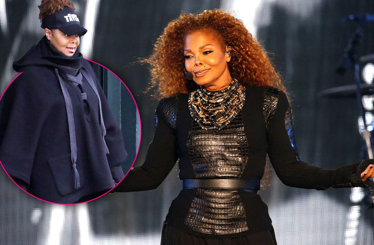//Janet Jackson Weight Loss Tour Unbreakable pp