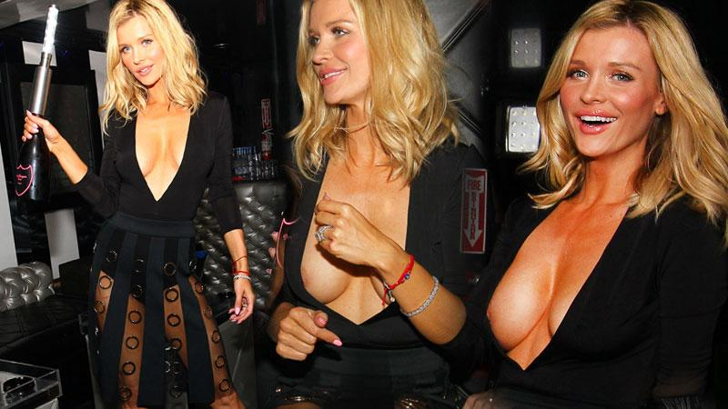 Joanna Krupa's Nightclub Nip Slip Photos