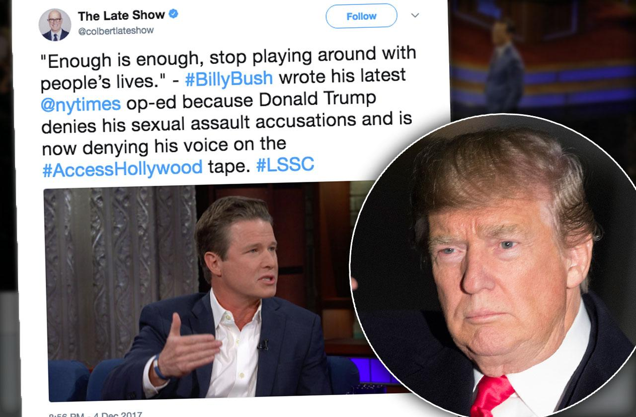 //Billy Bush Retreat After Donald Trump Tape pp