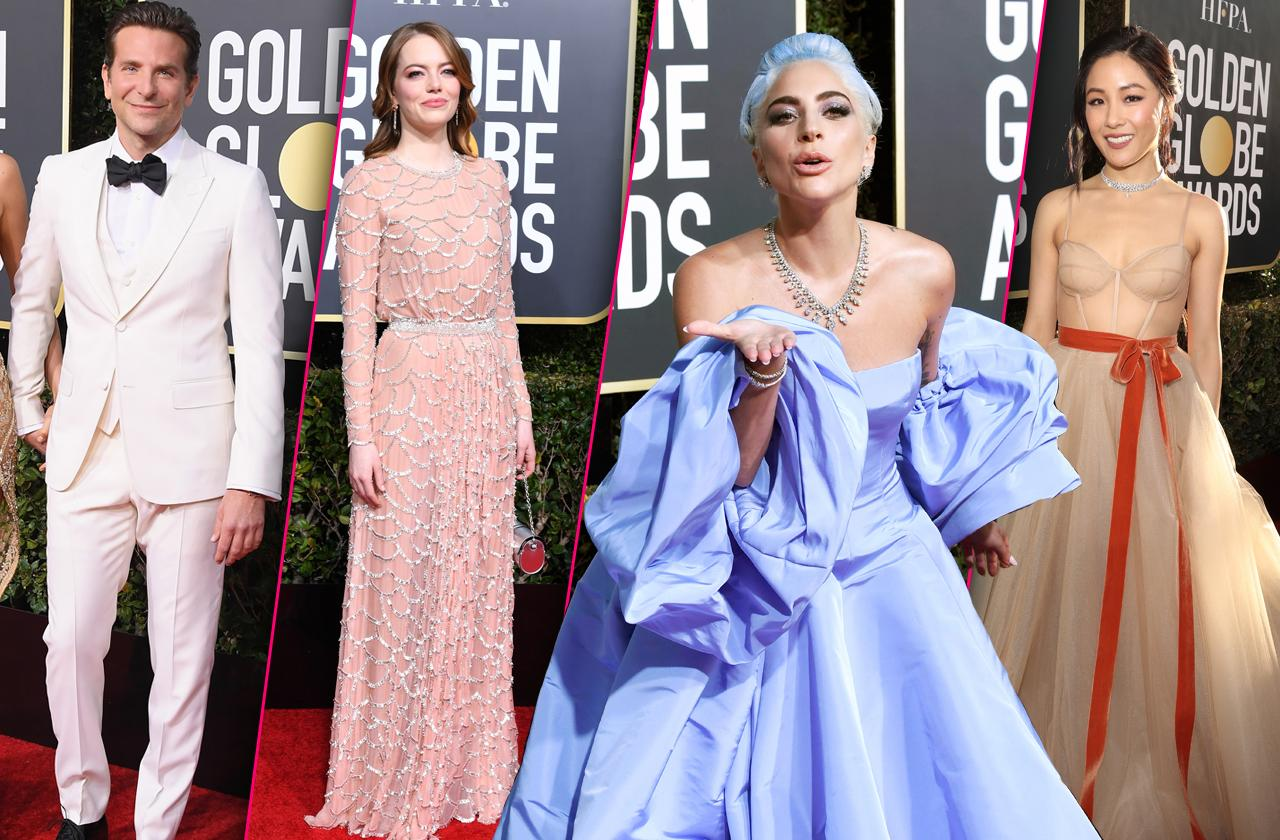 Golden Globes Red Carpet Celebrity Arrivals 2019