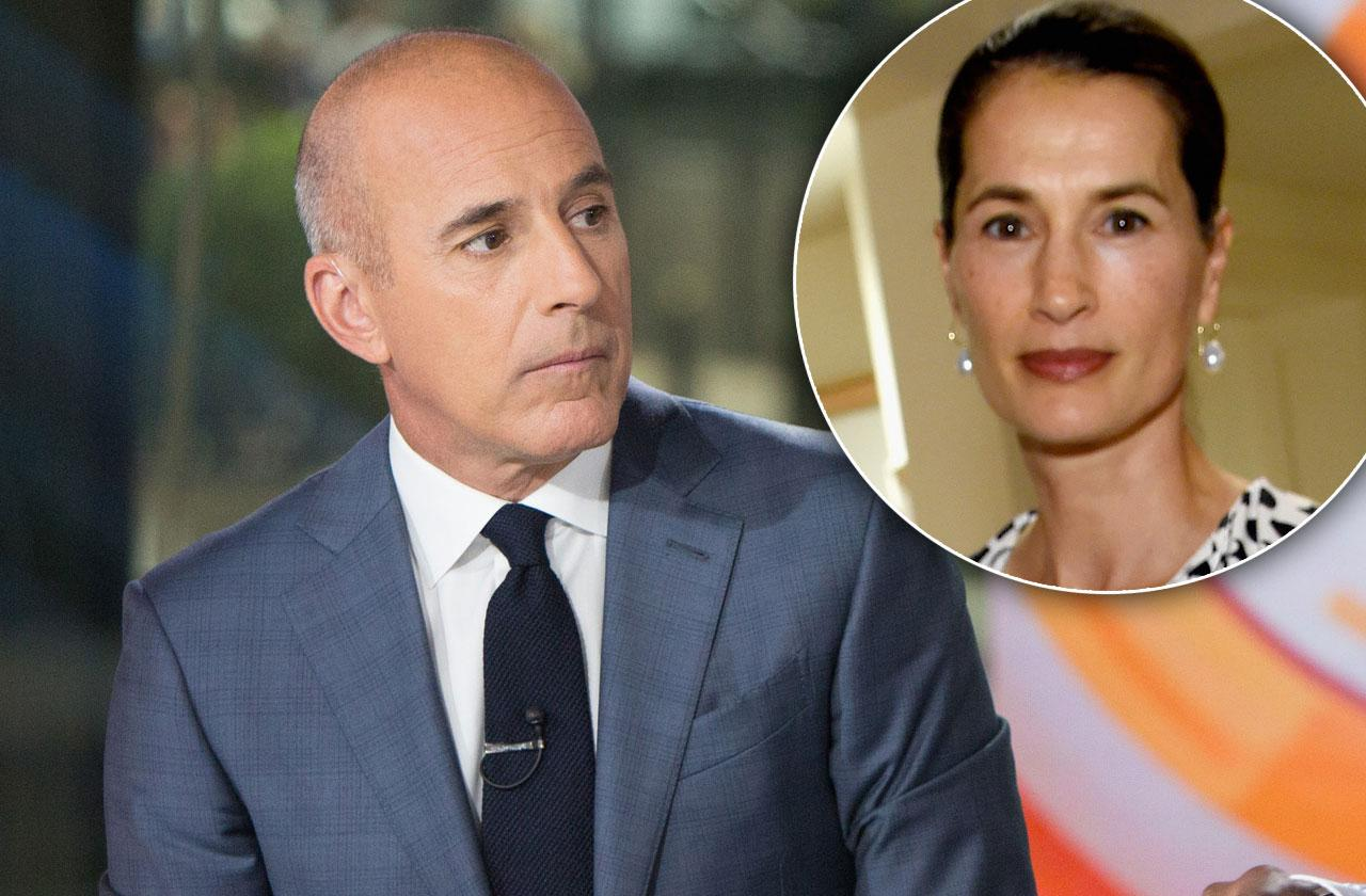 //Matt Lauer kicked out home by wife pp