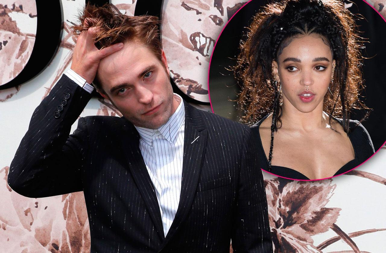 Robert Pattinson fka twigs kind of engaged