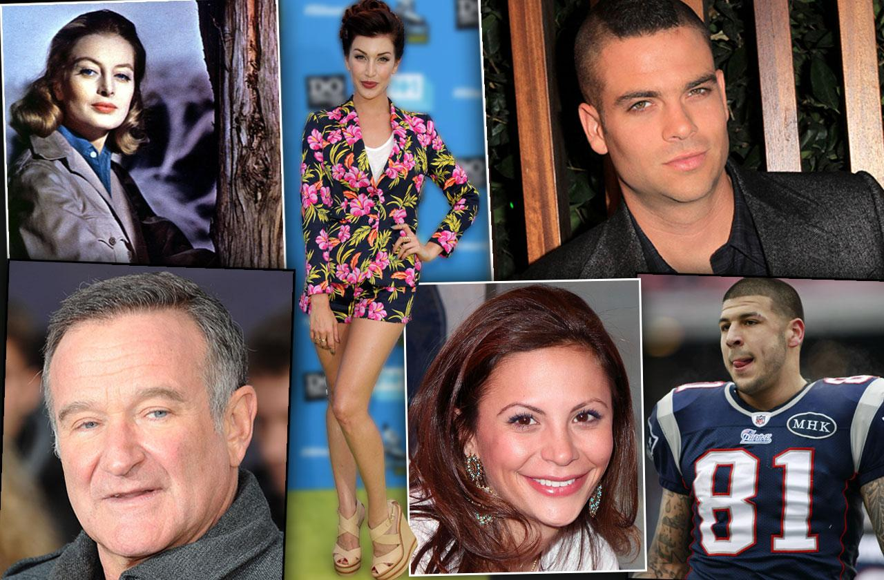 Most Shocking Celebrity Suicides Revealed Photos