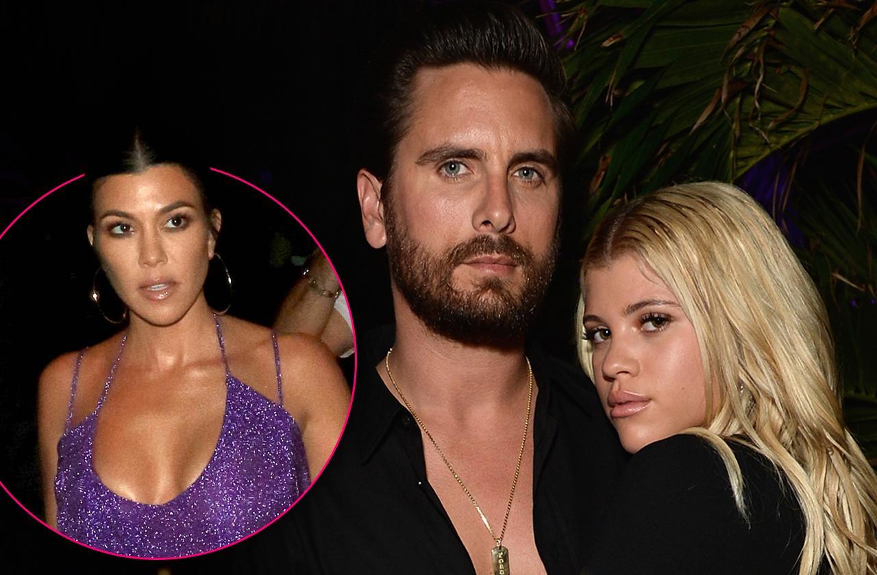 Sofia Richie Worried Scott Disick Dump Her Kourtney Kardashian
