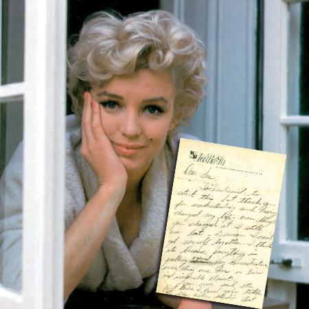 //marilyn monroe letters