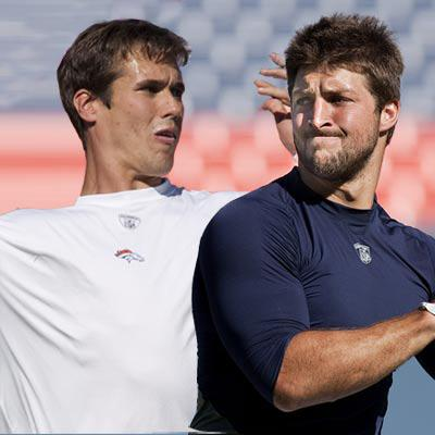 //brady quinn adversary time tebow landov