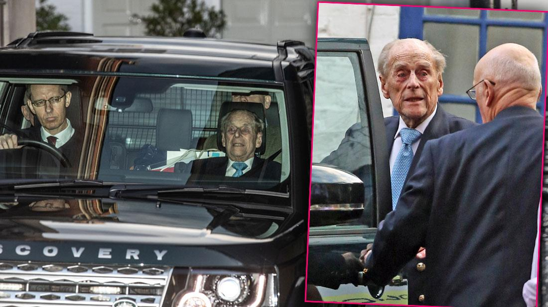 Prince Philip Released From Hospital In Time To Spend Christmas Eve With Royal Family