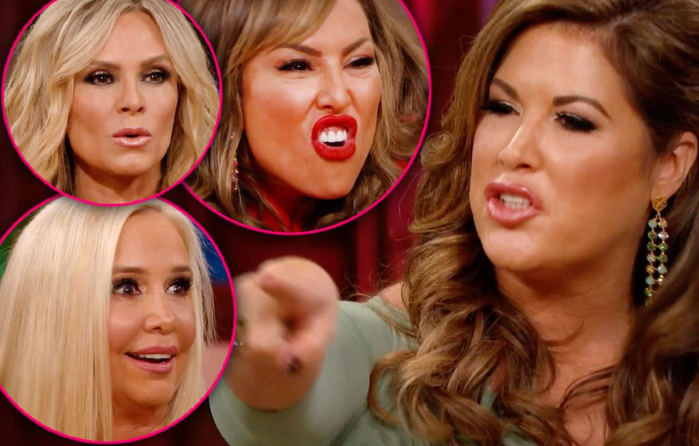 Emily Simpson Defends Husband Shane In Nasty Cast During 'RHOC' Reunion