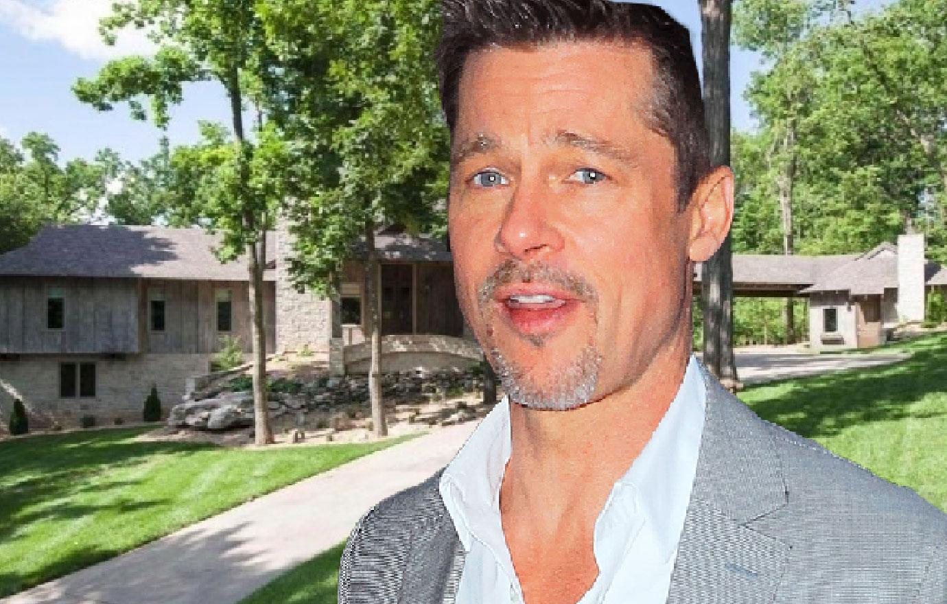 Inside Brad Pitt's Secret Compound In Springfield Missouri
