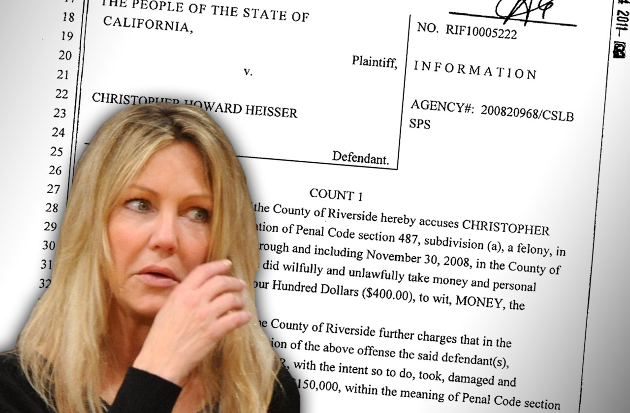 //heather locklear fiancé chris heisser criminal history pp
