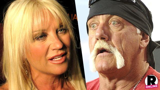 Linda and Hulk Hogan Fight