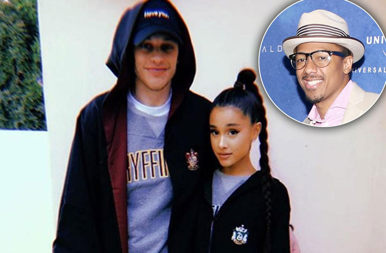 Pete Davidson Called Nick Cannon Before Proposing