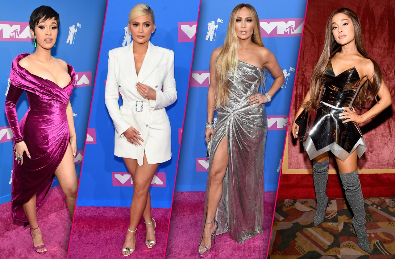 MTV VMA Awards 2018 Celebrity Red Carpet Arrivals