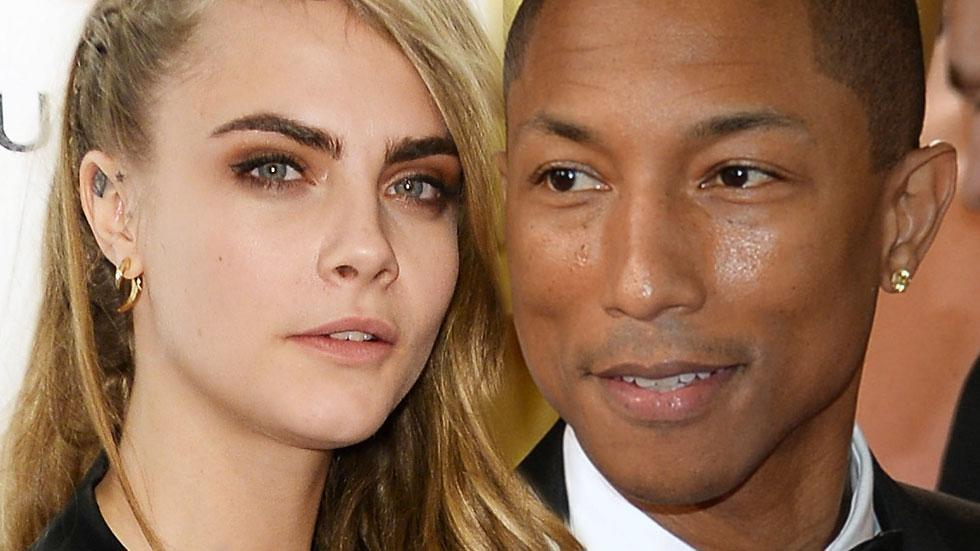 //cara delevigne and pharrell pp