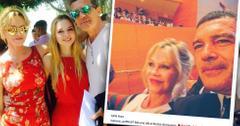 Melanie Griffith & Antonio Banderas Divorce Daughter Graduation Instagram