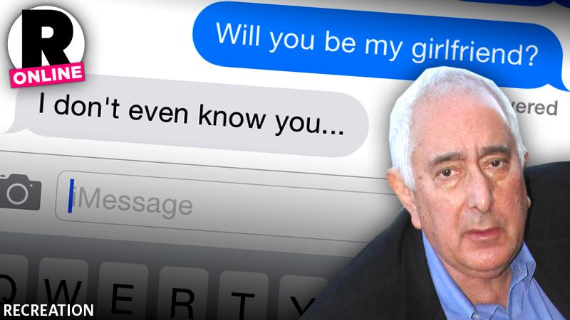 //ben stein sexting scandal girlfriend married  wide