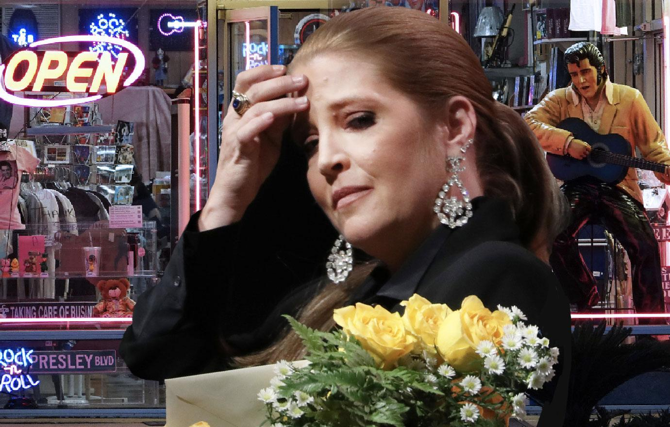 Lisa Marie Presley Unveils New Song At Graceland Amid Divorce Battle