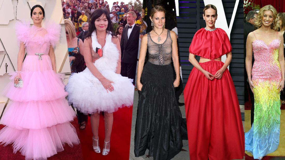 Wackiest Oscar Gowns Of All Time Exposed