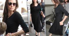 Angelina Jolie Scary Skinny Maddox Lax
