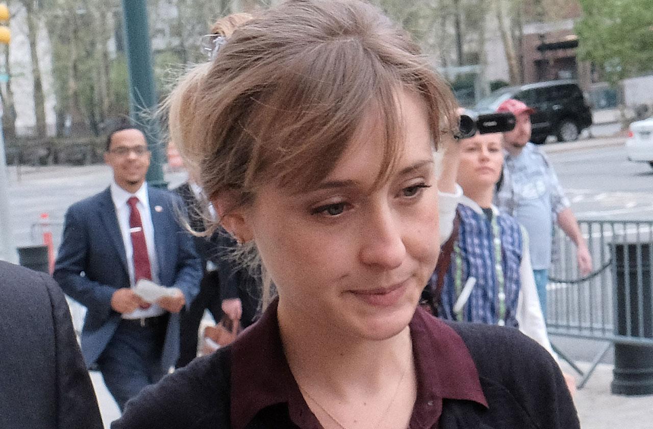 Allison Mack restraining order dismissed