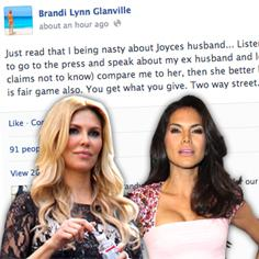 //brandi glanville joyce giraud husband fair game sq
