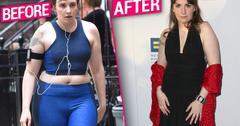 Lena Dunham Weight Loss Before After Pics