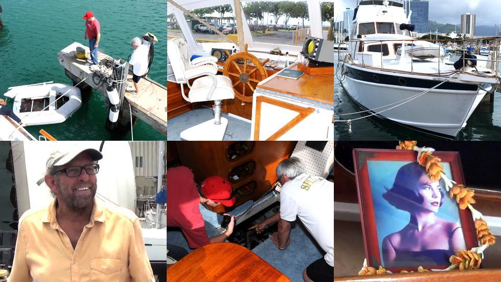 Natalie Wood Death Scene Yacht Reenactment