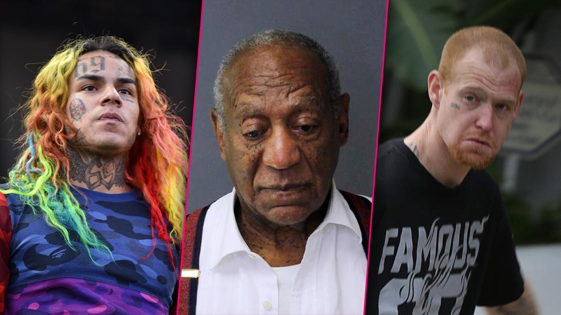 Bill Cosby, Redmond O'Neal & Other Stars Locked Up For The Holidays!