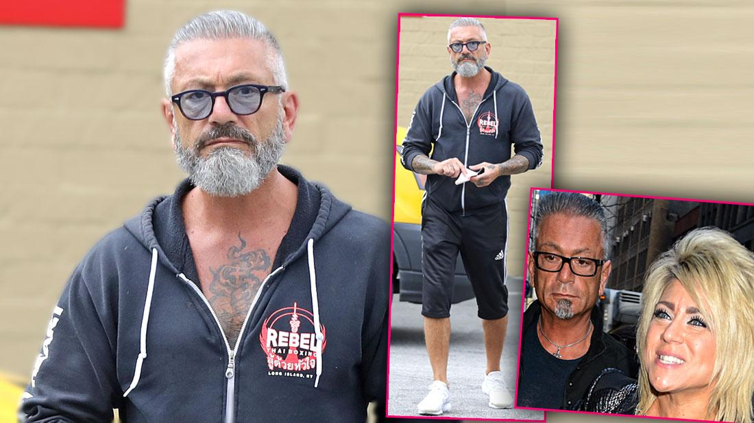 Larry Caputo Looks Worse For Wear After Divorce From 'Long Island Medium' Finalized