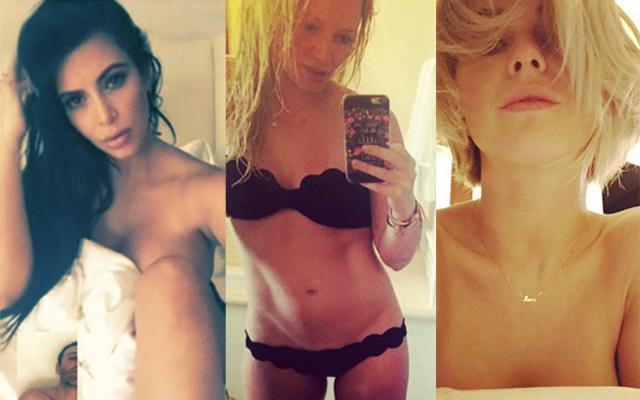 Stars Most Naked Social Media Moments 2015