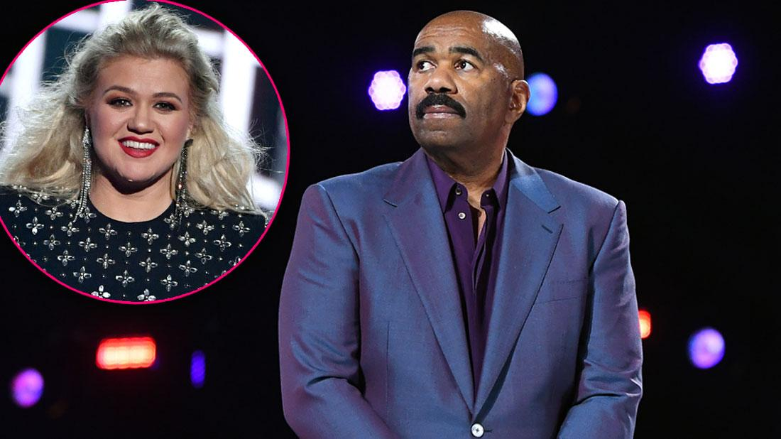 Steve Harvey's Talk Show Officially Canceled After Kelly Clarkson Takes Spot