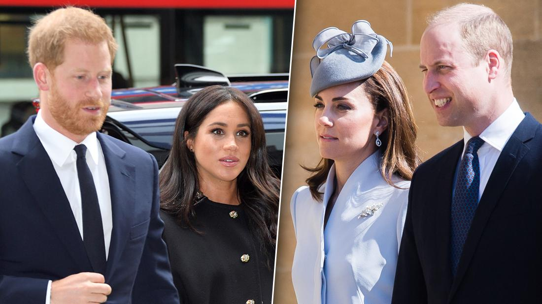 Meghan Markle & Prince Harry Unfollow William & Kate On Instagram
