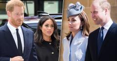 Meghan Markle & Prince Harry Unfollow William & Kate On Instagram