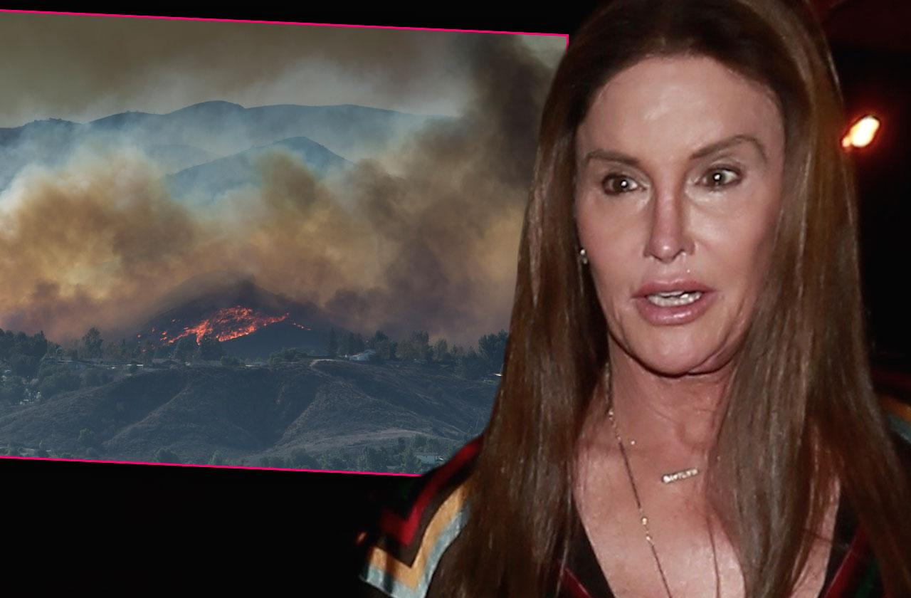 Caitlyn Jenner's Home Burns To The Ground California Wildfires