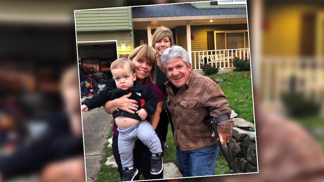 Matt And Amy Roloff And Caryn Bury Hatchet After Baby