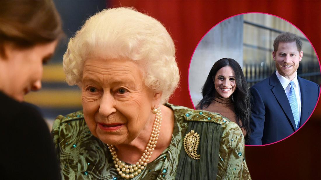 Queen Elizabeth Sick After Prince Harry & Meghan's Royal Exit
