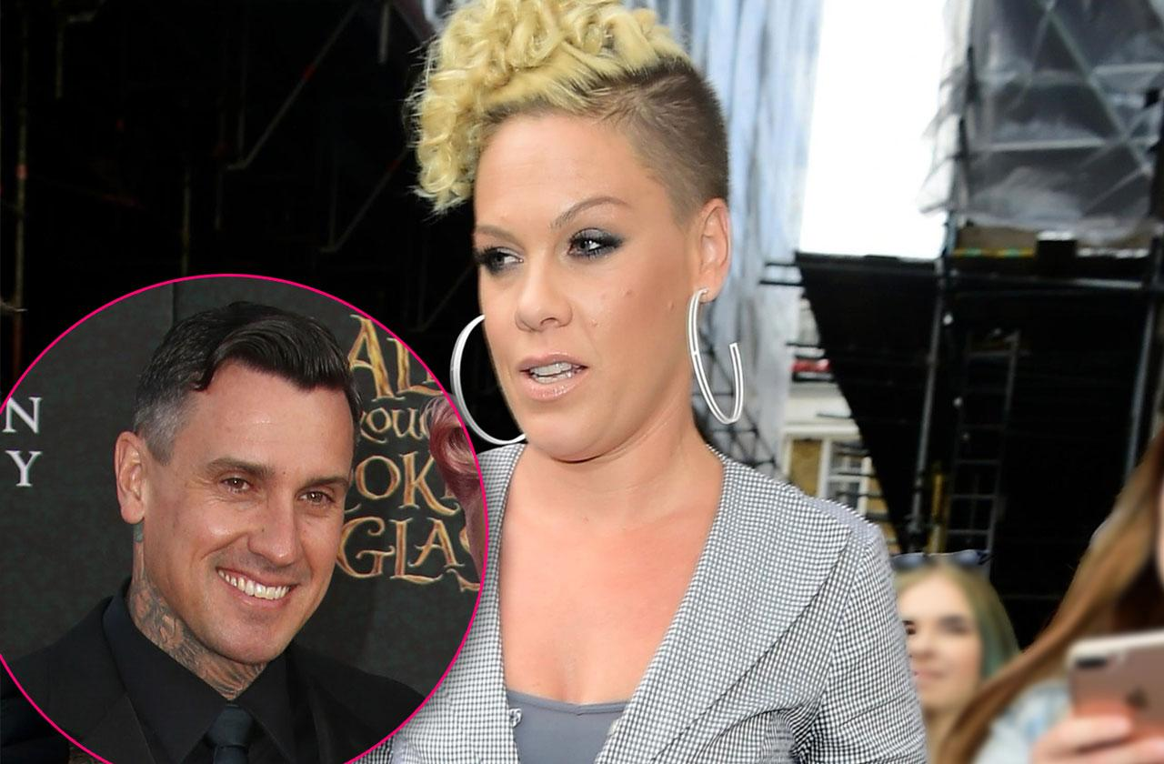 Pink Sees Red Over Husband Carey Hart's Boozing