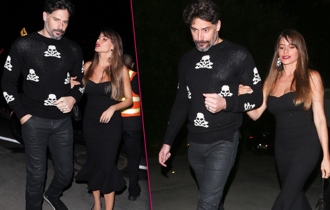 Sofia Vergara and Joe Manganiello Hit Up Christmas Party