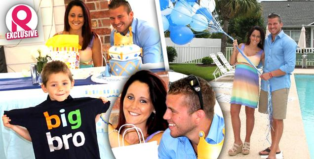 //jenelle evans nathan griffin two baby showers jace exclusive wide