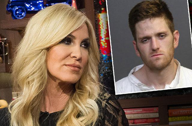 RHOC Lauri Peterson Son Josh Waring Attempted Murder Charges Arraignment