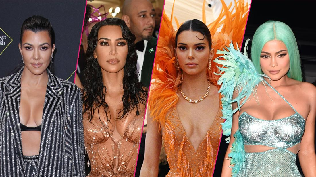 Most Shocking Kardashian-Jenner Outfits Of 2019