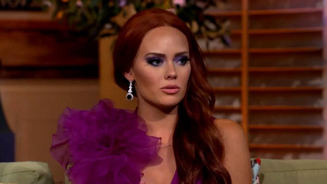 Southern Charm Arrest Police Report Filed by Lara Dawson Against Kathryn Dennis Looking Upset for Burglary and Stalking
