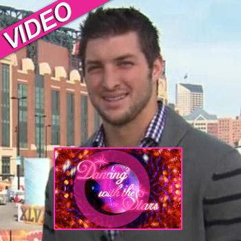 //tim tebow dancing with the stars video