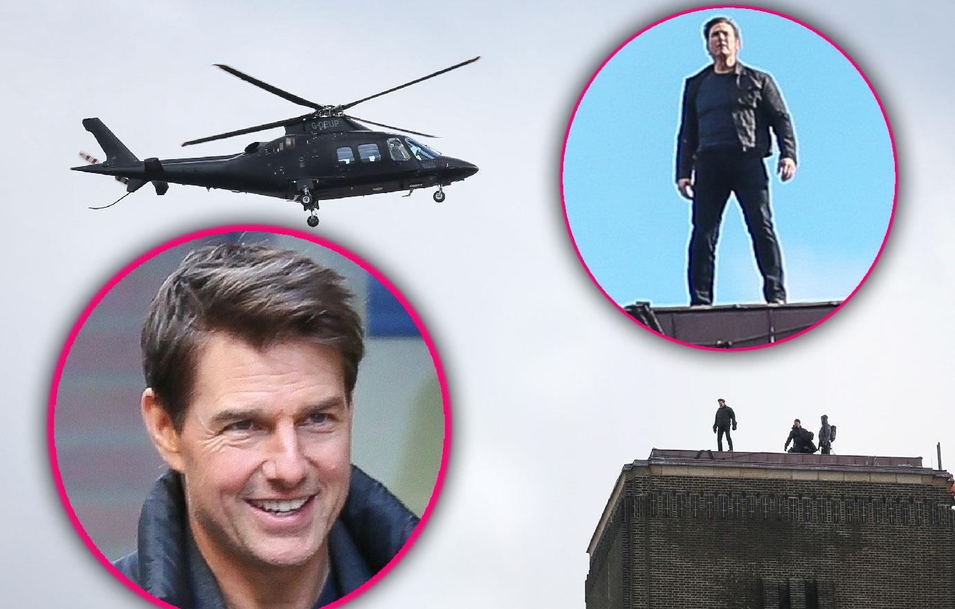 Tom Cruise Back On Mission Impossible Set After Broken Ankle