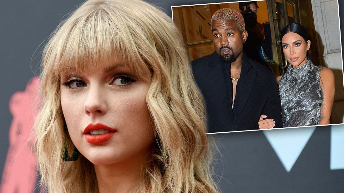 Taylor Swift Calls Kim Kardashian & Kanye West 'Two-Faced'