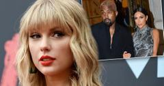 Taylor Swift Calls Kim Kardashian & Kanye West 'Two-Faced'