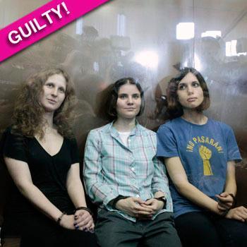 //pussy riot guilty verdict