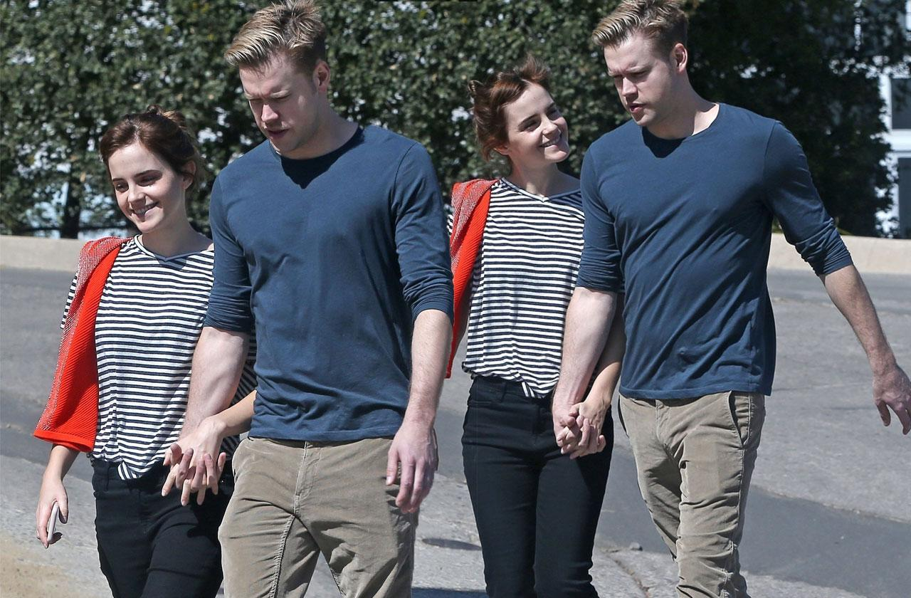 Emma Watson Chord Overstreet Date PDA