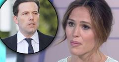 //jennifer garner today interview ben affleck divorce