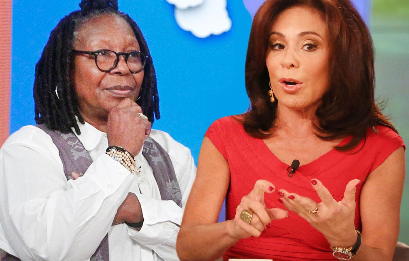Judge Jeanine Pirro Says Whoopi Goldberg Treated Her Like Dirt On The View